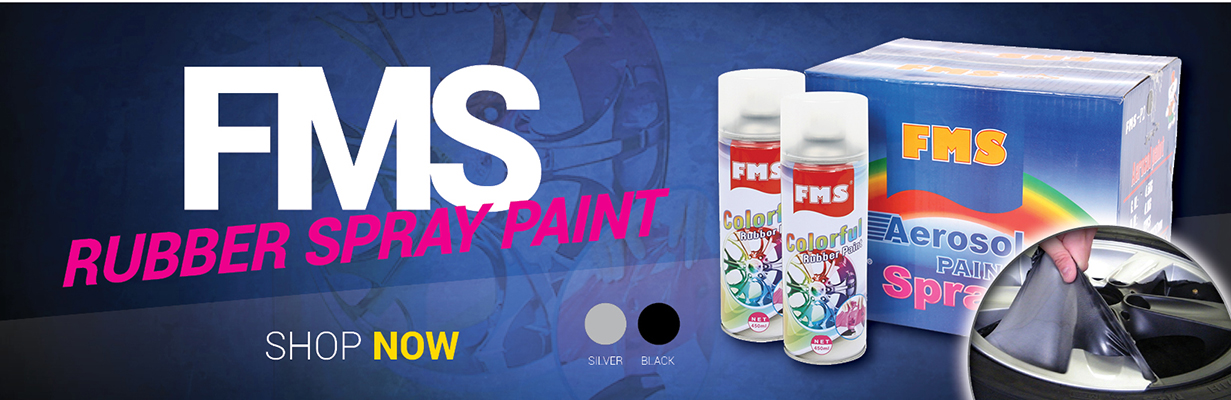FMS Rubber Spray Paint