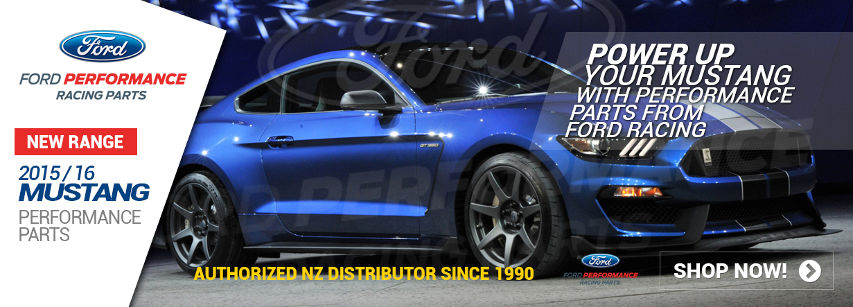 Official Ford Racing Performance Parts NZ