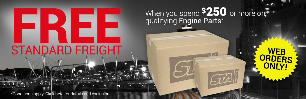 Free Standard Freight Offer