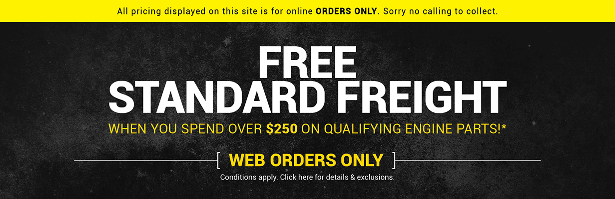 Free Freight on Orders Over $250+gst