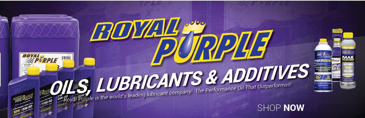 Royal Purple Oils